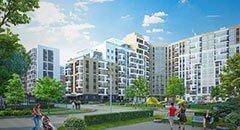 ЖК Энфилд: европланировки, отделка. Квартиры с палисадниками, дворы без машин. Квартиры от 1,72 млн