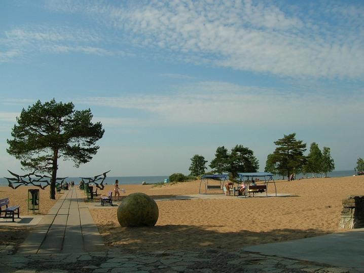 Красивые пляжи Курортного района. Фото с сайта http://nevnov.ru