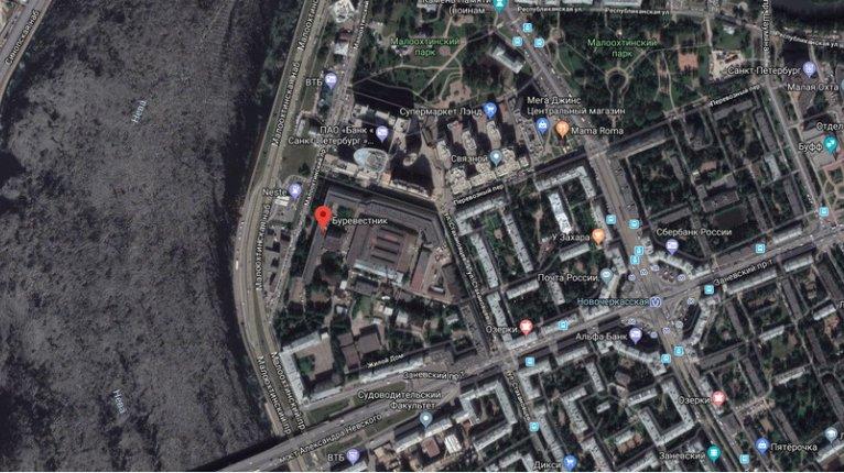 На территории завода «Буревестник» - фото 1