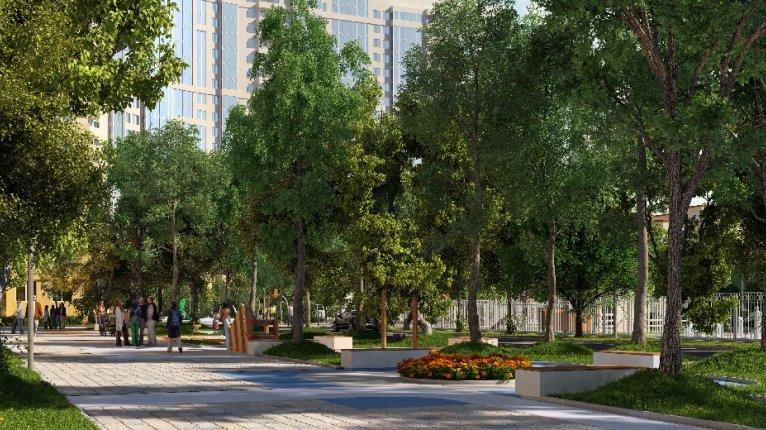 Green City («Грин сити»): Бульвар