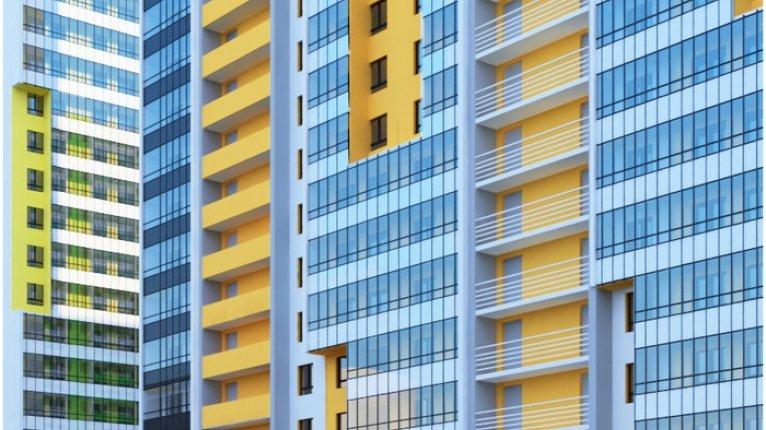 «Граффити»: Единая навесная витражная система панорамного остекления балконов и лоджий