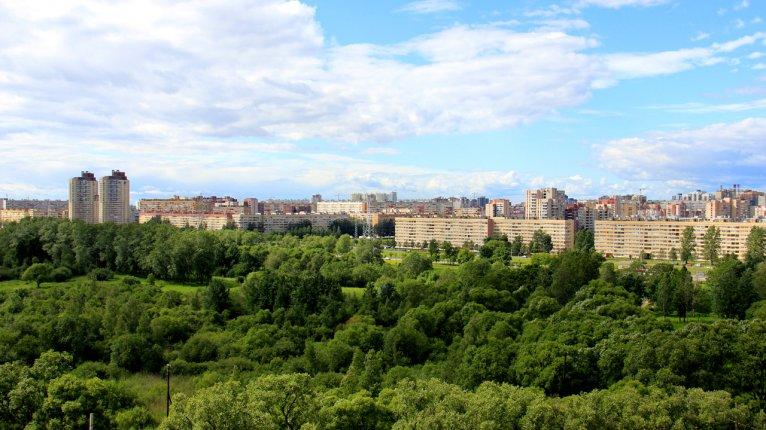 «Полежаевский Парк»: Из окон виден Полежаевский парк