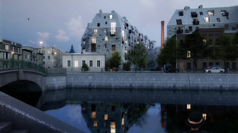 Meltzer Hall («Дом на набережной реки Карповки») - фото 13