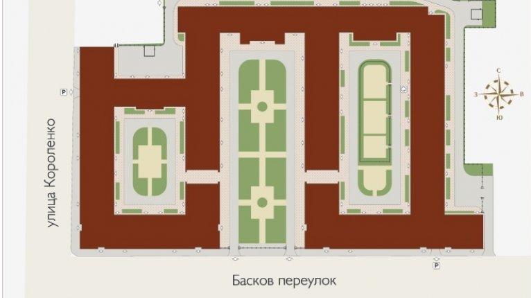 «Русский дом»: Генеральный план