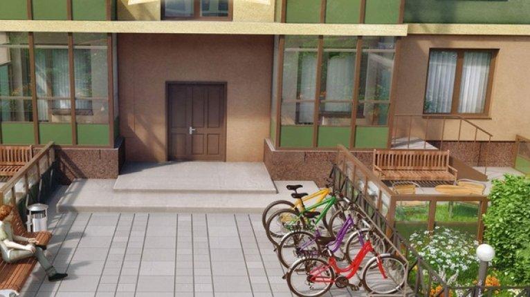 «Золотые купола»: Комплекс будет оборудован велопарковками и велодорожками