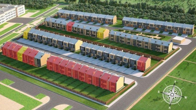 «Новые кварталы Петергофа»: Таунхаусы