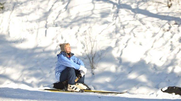 «Центральный»: В Колтушах хорошие склоны для лыжных спусков