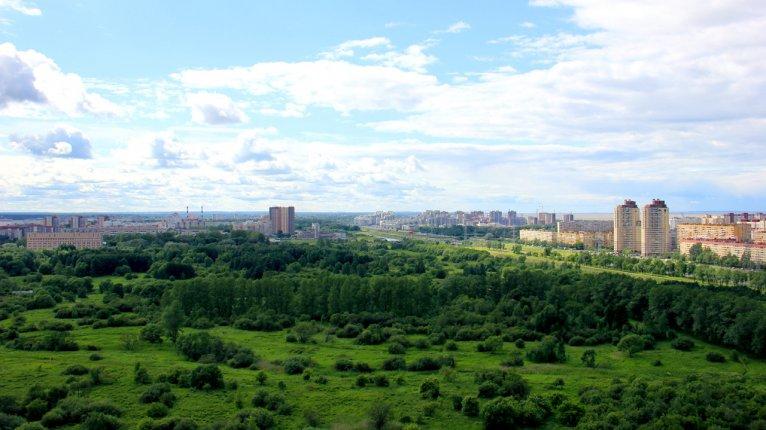 «Полежаевский Парк»: Такой вид на Полежаевский парк открывается из окон дома