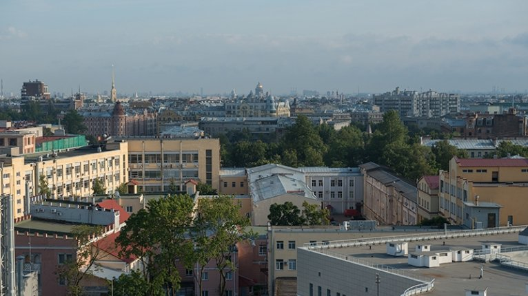 «Европа Сити»: Вид из окна