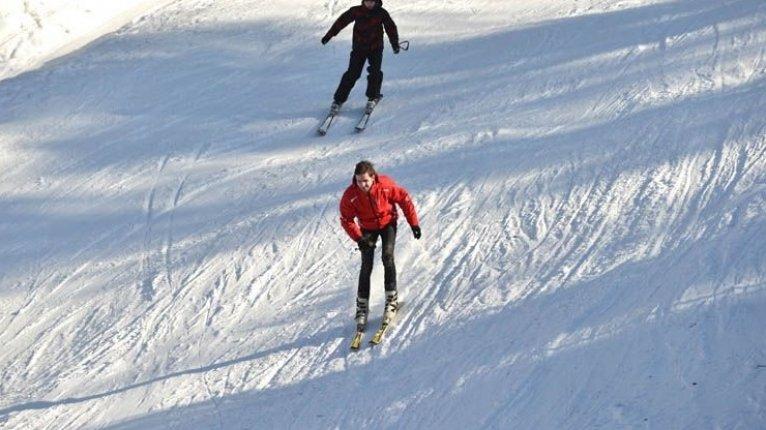 «Олимпийский»: Лыжная трасса