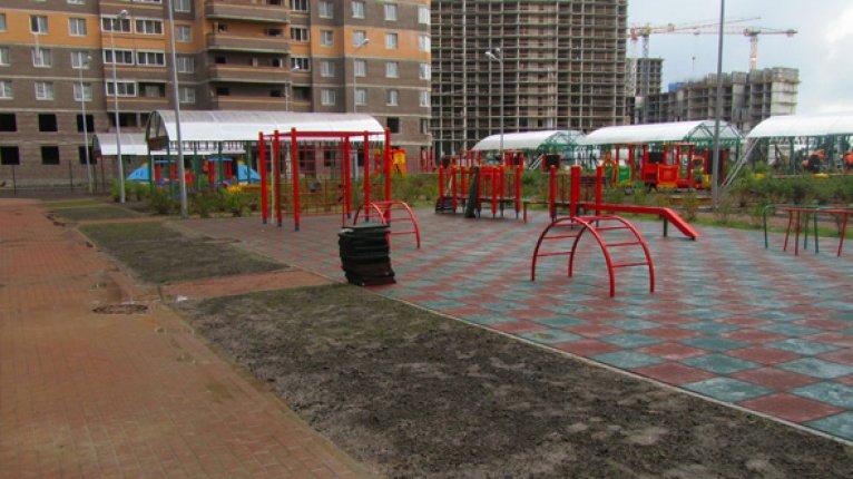 «Новое Мурино»: Игровая площадка детского сада