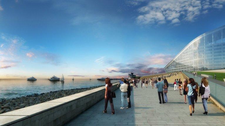 «Морские башни»: Набережная Финского залива