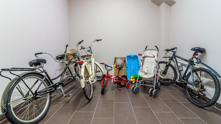 Diadema Club House («Диадема Клуб Хаус»): Велосипедные и колясочные комнаты