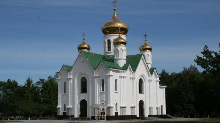 «Невская Дубровка»: Храм во имя иконы Божией матери «Взыскание погибших»