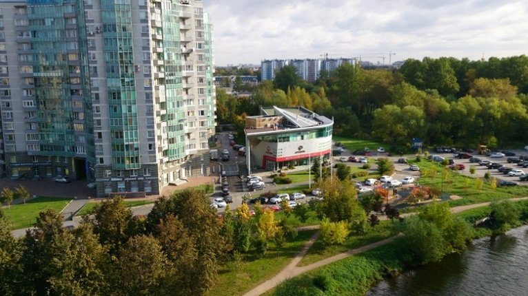 «Дом на Смоленке»: Вид из окон дома