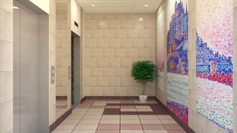«Вернисаж»: Холл дома №6