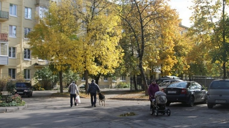 «Добрыня»: ЖК окружают дома и просторные дворы