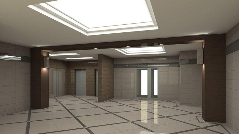 «Елагин-апарт»: Проработка концепции холла