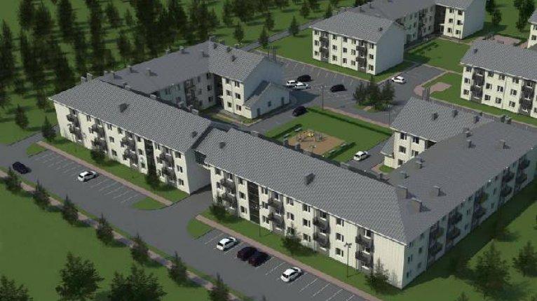 «Солнечный квартет»: Дома первого этапа строительства
