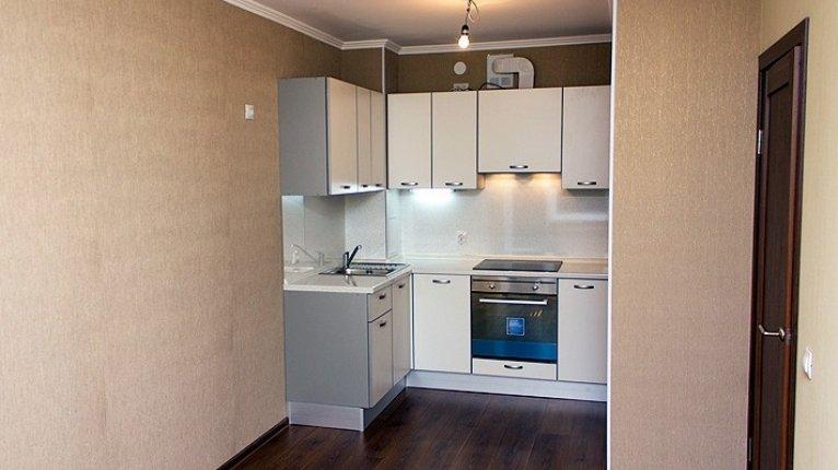 «Иван-да-Марья»: Чистовая отделка квартир (в студиях и однокомнатных «евро» кухонный гарнитур и бытовая техника)