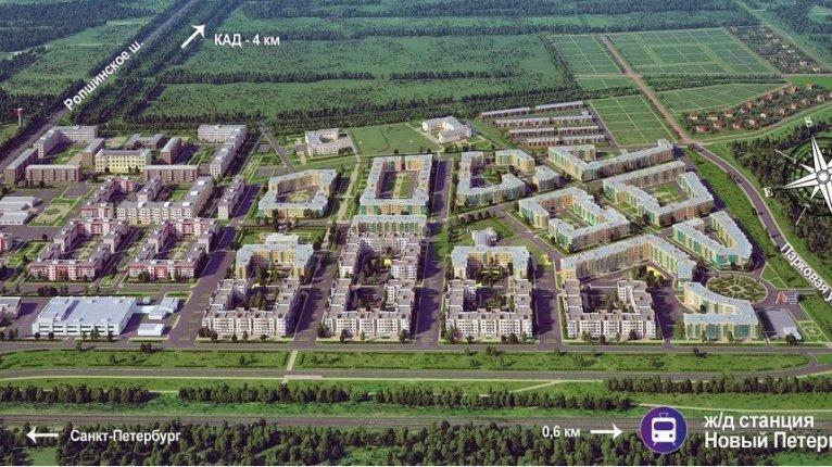 «Новые кварталы Петергофа»: Комплексное освоение территории «Новые кварталы Петергофа»