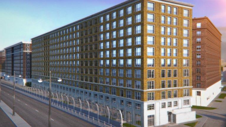 Docklands («Докландс»): Корпус 3 (блок 1)
