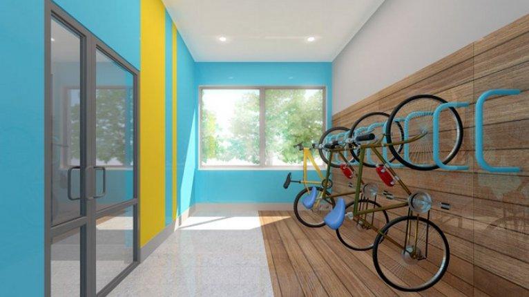 «Граффити»: Зона для хранения велосипедов