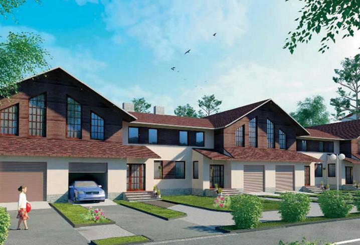 Таунхаус — западный тип жилья. Фото с сайта http://masterotvetov.com